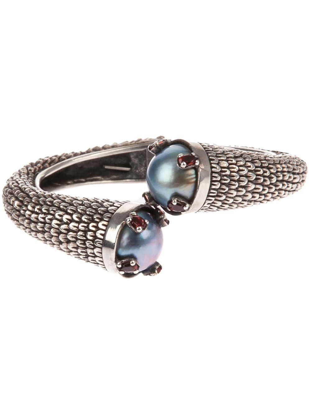 Ugo Cacciatori Ring for Women, Oxidised Silver, Silver, 2017, Medium