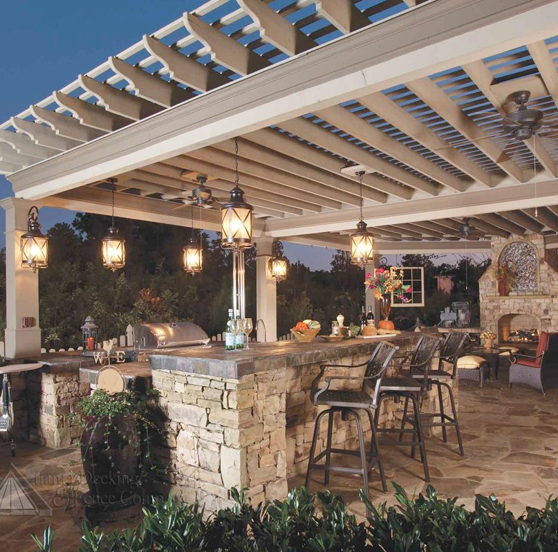 Outdoor Kitchen Lighting Ideas Pictures Tips Advice: Rustic Outdoor Kitchens, Outdoor
