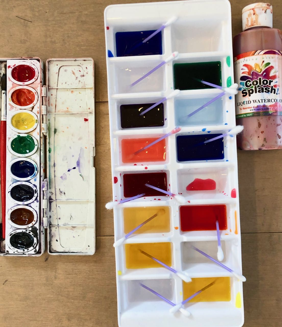 Pan Versus Liquid Watercolors For Kids Which Ones Should You Use