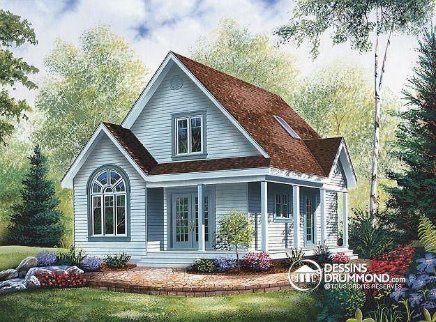 W2597 - Maison à bon prix, possibilité de 3 chambres et mezzanine - prix des verandas de maison