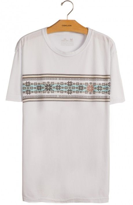 Osklen - T-SHIRT STONE LE HAVRE - stone - t-shirts - men