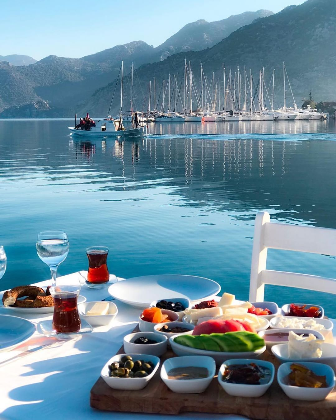 Breakfast With A View On Instagram Morning In Marmaris Turkey