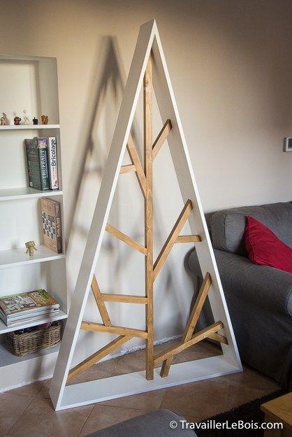 Sapin De Noel Contemporain un sapin de noël en bois contemporain | christmas trees | pinterest