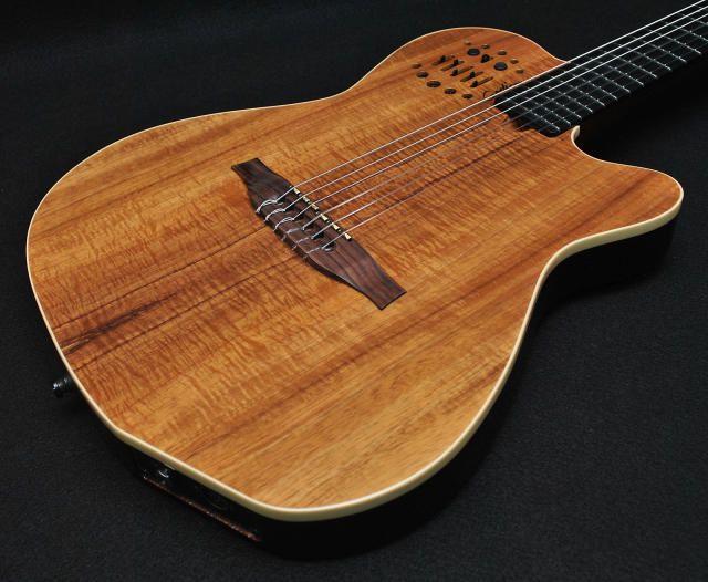 Godin ACS Multiac Koa Acoustic Electric Guitar w/ Gig Bag