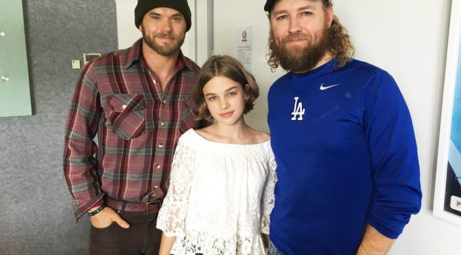 33691dce65 Actors Kellan Lutz, Teagan Croft and Director Shane Abbess talk about their  new sci-fi film The Osiris Child: Science Fiction Volume One