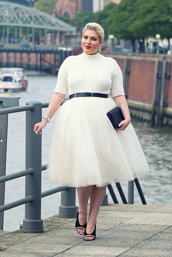 5 cute spring outfits with a tulle skirt - page 4 of 5   tulle