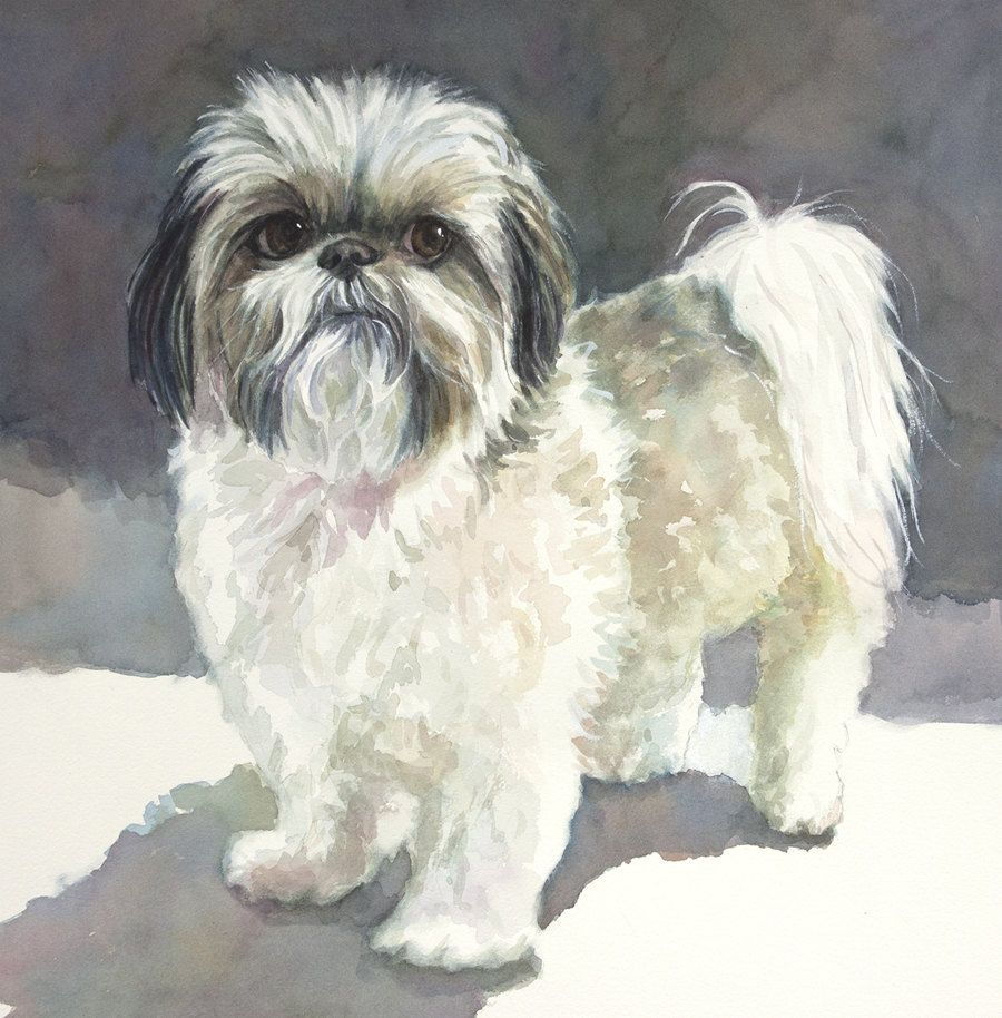 For More Dog House Click Here Http Dogg Life Dog Portraits Watercolor Dog Pet Portraits