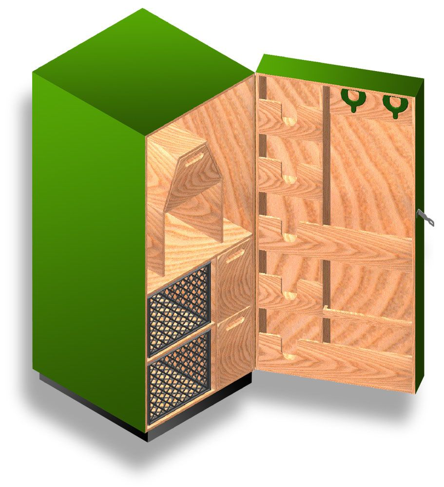 Tack Locker Plans - Would love to build one of these eventually so ...