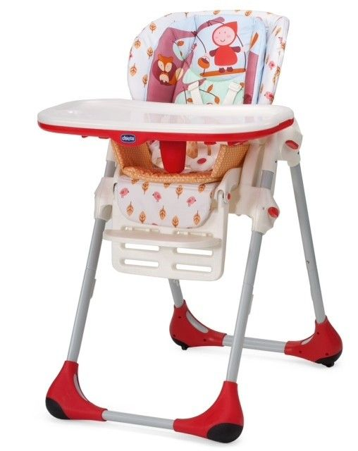 Chicco Polly Double Phase High Chair Happy Land Con Immagini
