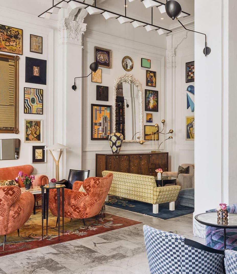 The Hippest Hotel In San Francisco Right Now Cntraveler Properhotels Sanfrancisco Home Design Living Room Interior Design Living Room Warm Eclectic Home