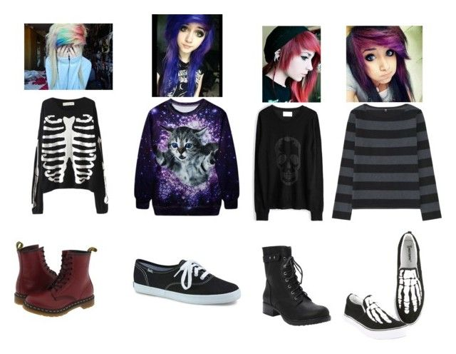 """""""Winter Fashion"""" by sorrow-blue on Polyvore featuring Zadig & Voltaire, Uniqlo, Torrid, Dr. Martens and Keds"""