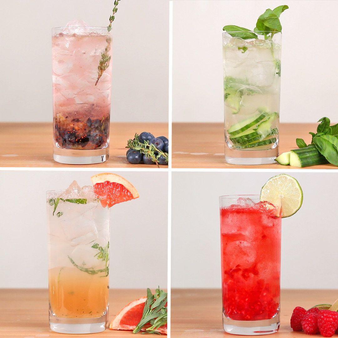 diese gin tonic variationen sind mega lecker und erfrischend f d pinterest getr nke gin. Black Bedroom Furniture Sets. Home Design Ideas