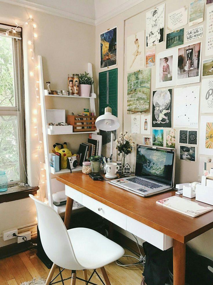 Inspiration Wall Above Desk.