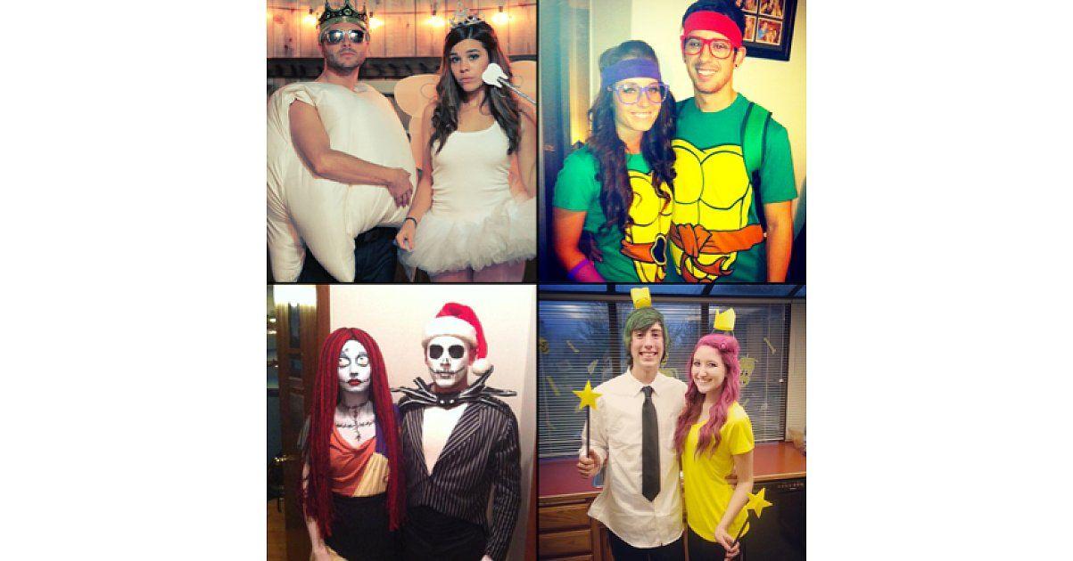 57 Cheap and Original DIY Couples Halloween Costumes Costume ideas - no cost halloween costume ideas