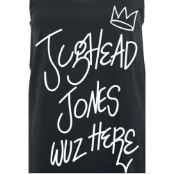 Riverdale T-Shirt schwarz Jughead Jones wuz here