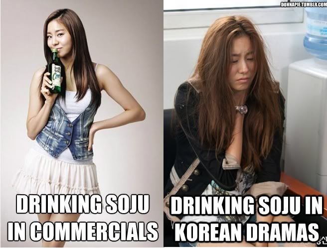 Pop Meme: SoJu In CF's + Dramas