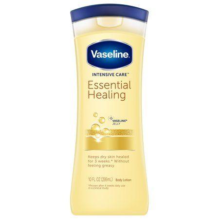 Vaseline Intensive Care Essential Healing Body Lotion 10 Oz Walmart Com Healing Dry Skin Body Lotion Healing Lotion