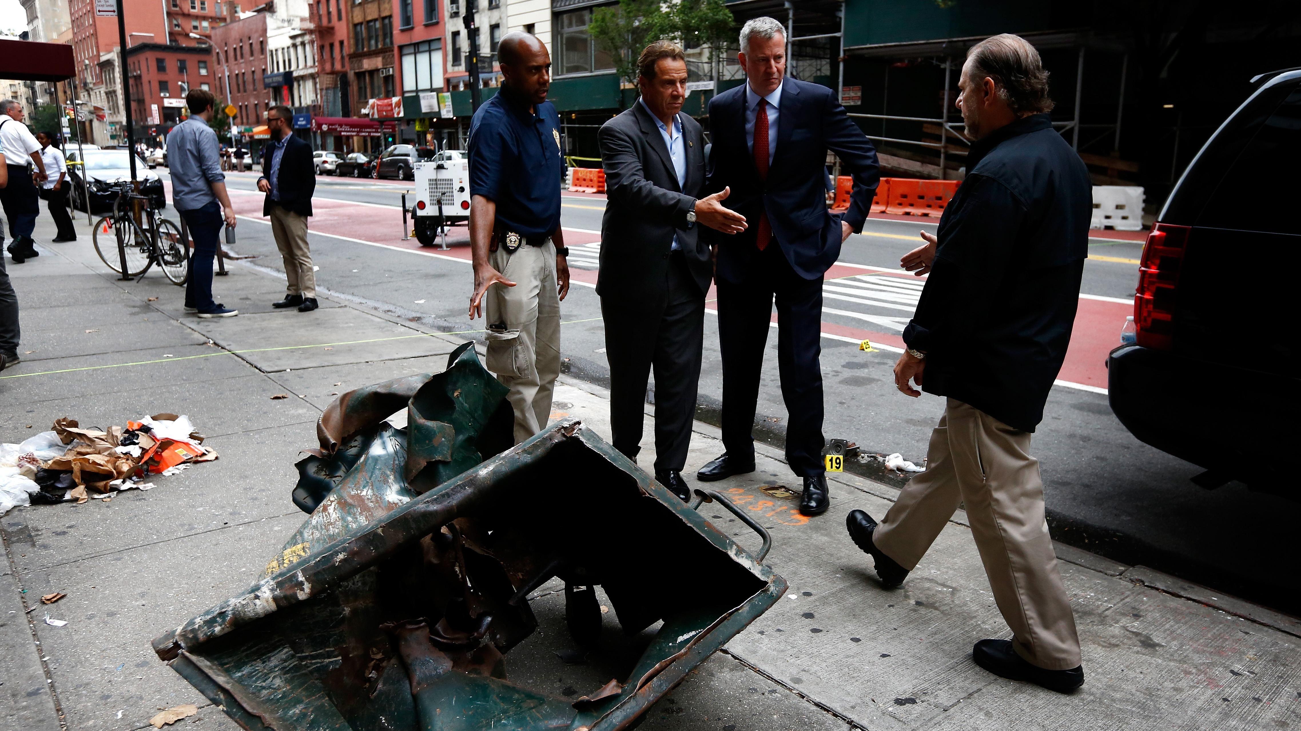 Efter Eksplosion I New York Efterlyst Mand Er Fanget Nyheder