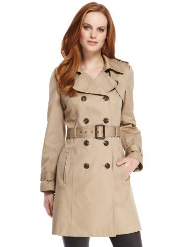d5caea7b947 Pure Cotton Belted Trench Coat with Stormwear™ in 2019   Rosings ...