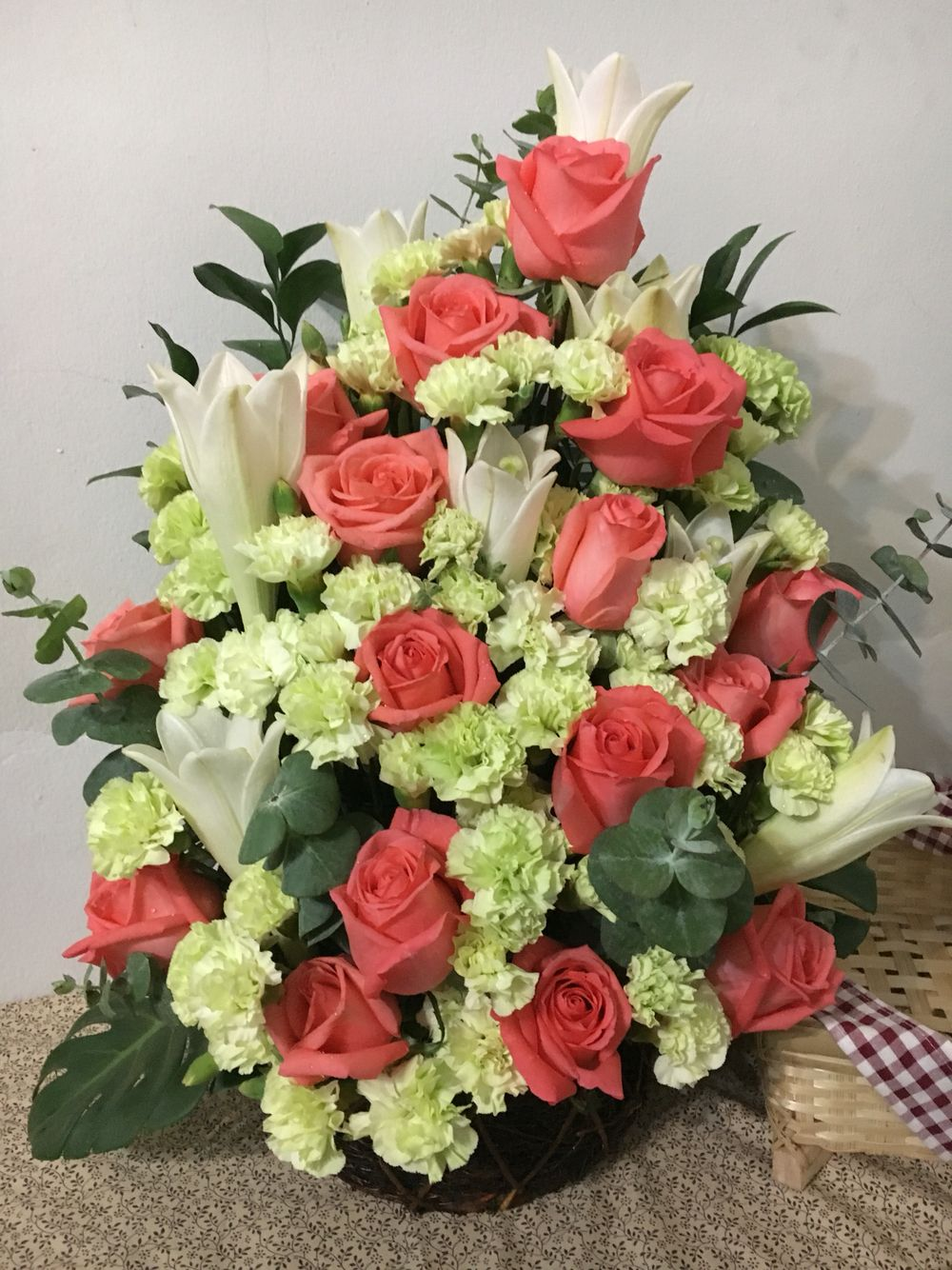 35th years wedding anniversary | Flowers arrangment | Pinterest ...