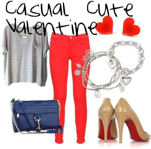 21 Valentineu0027s Day Outfit Ideas   Fashion Diva Design, This One Would Be An  Easy Work Day One.