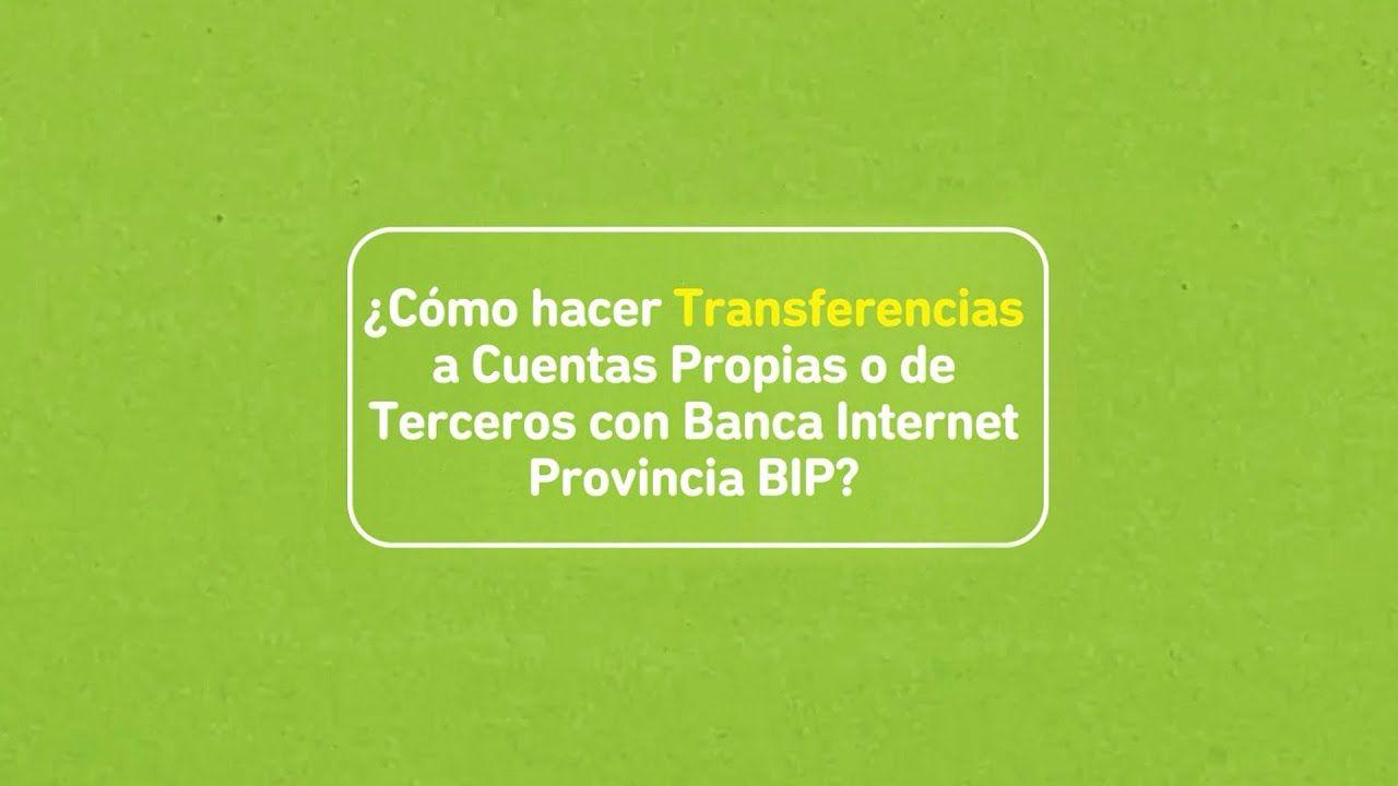 Pin En Bco Provincia