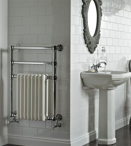 Victorian Style Electric Heated Towel Rail Genius Solution For Our Cottage Bathroom