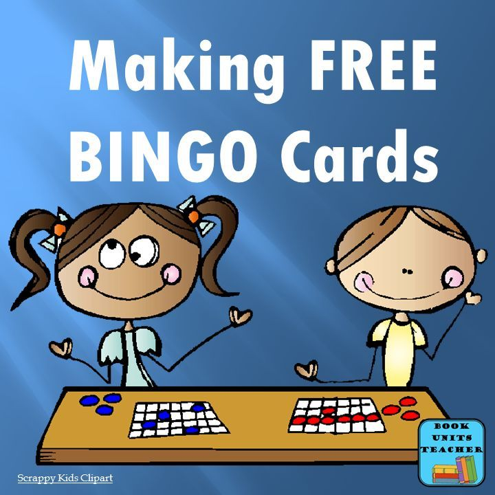 FREE BINGO ~ Which Card Generator is Right for You | Bingo card ...