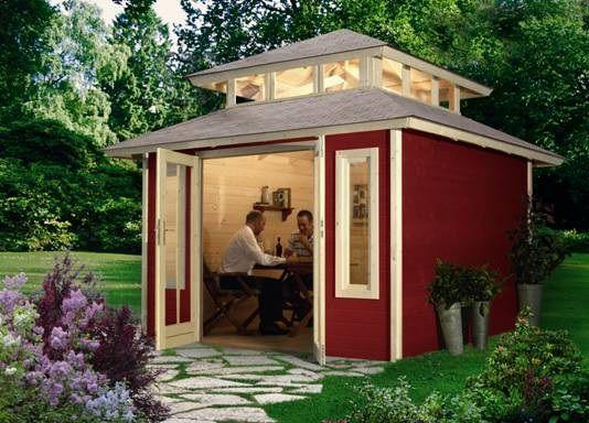 Garden Sheds Rooms garden shed pavilion guest room | home: garden sheds, summer