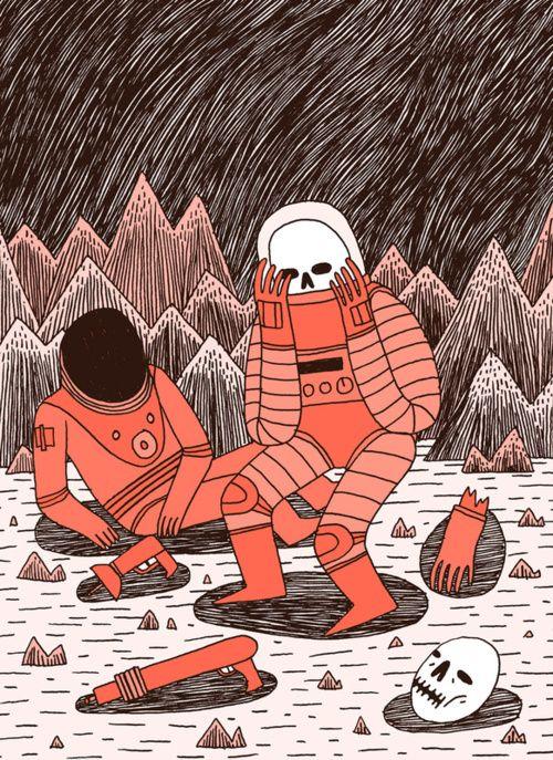 Morte no Espaço por Jack Teagle