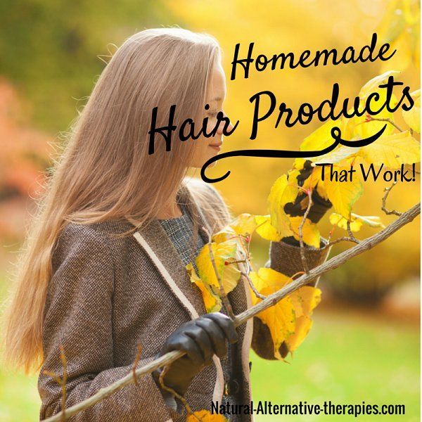 Homemade Natural Hair Products: 9 Fantastic and Easy Recipes