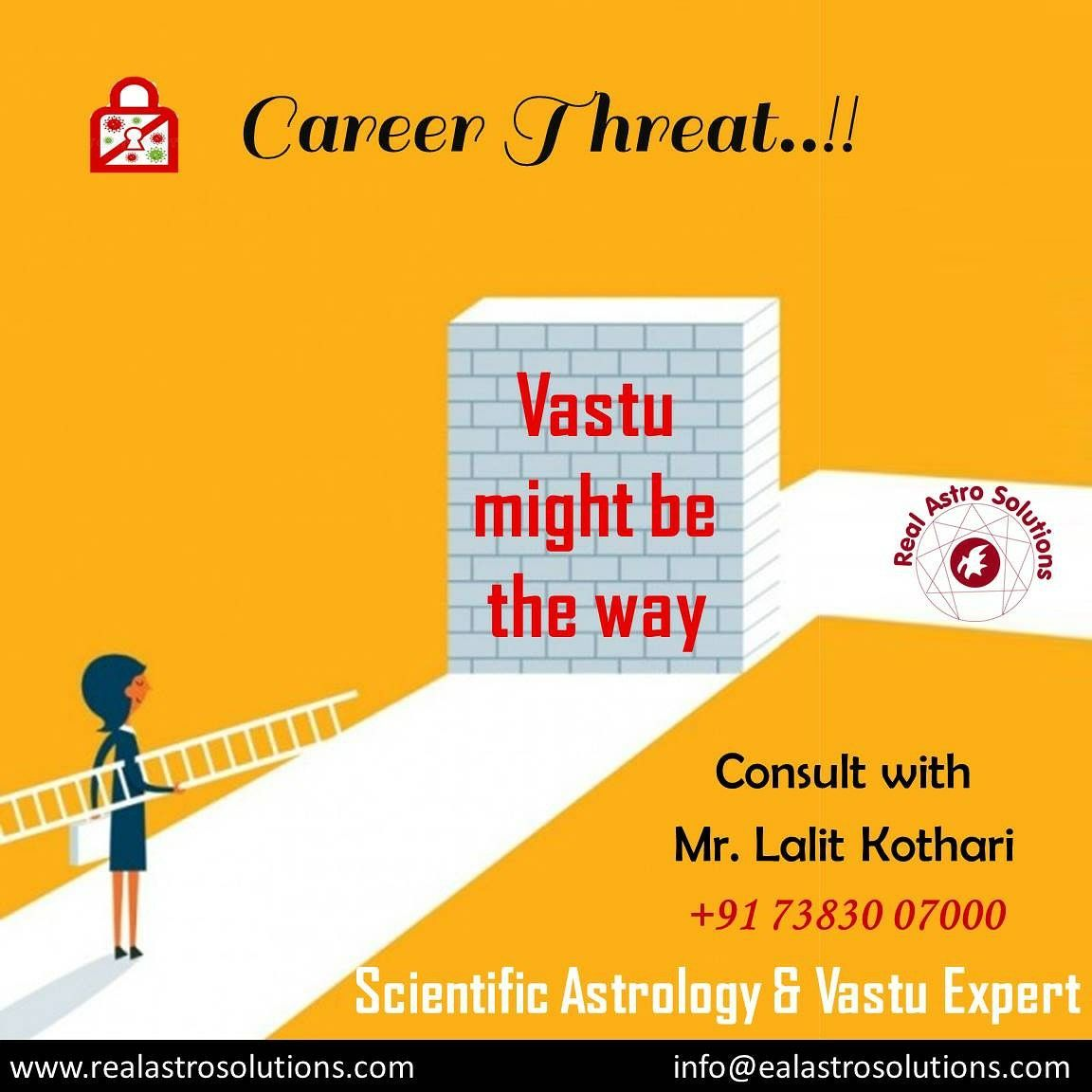 Is there a doubt about your career..... Get all the solutions of your questions.. Consult Dr. Lalit Kothari, scientific and vastu expert.. #realastrology #astrology #palmistry #numerology #expert #vastuexpert #surat #vadodra #ahmedabad #gujarat #lalitkothari #kothari #BDKothari #therapist #vastusolutions #vision #insight #astrology #capabilities #power #philosophy #vitality #truth #destiny #healthandwellness #zodiac #scientific #vastuconsultant #doshanivaran
