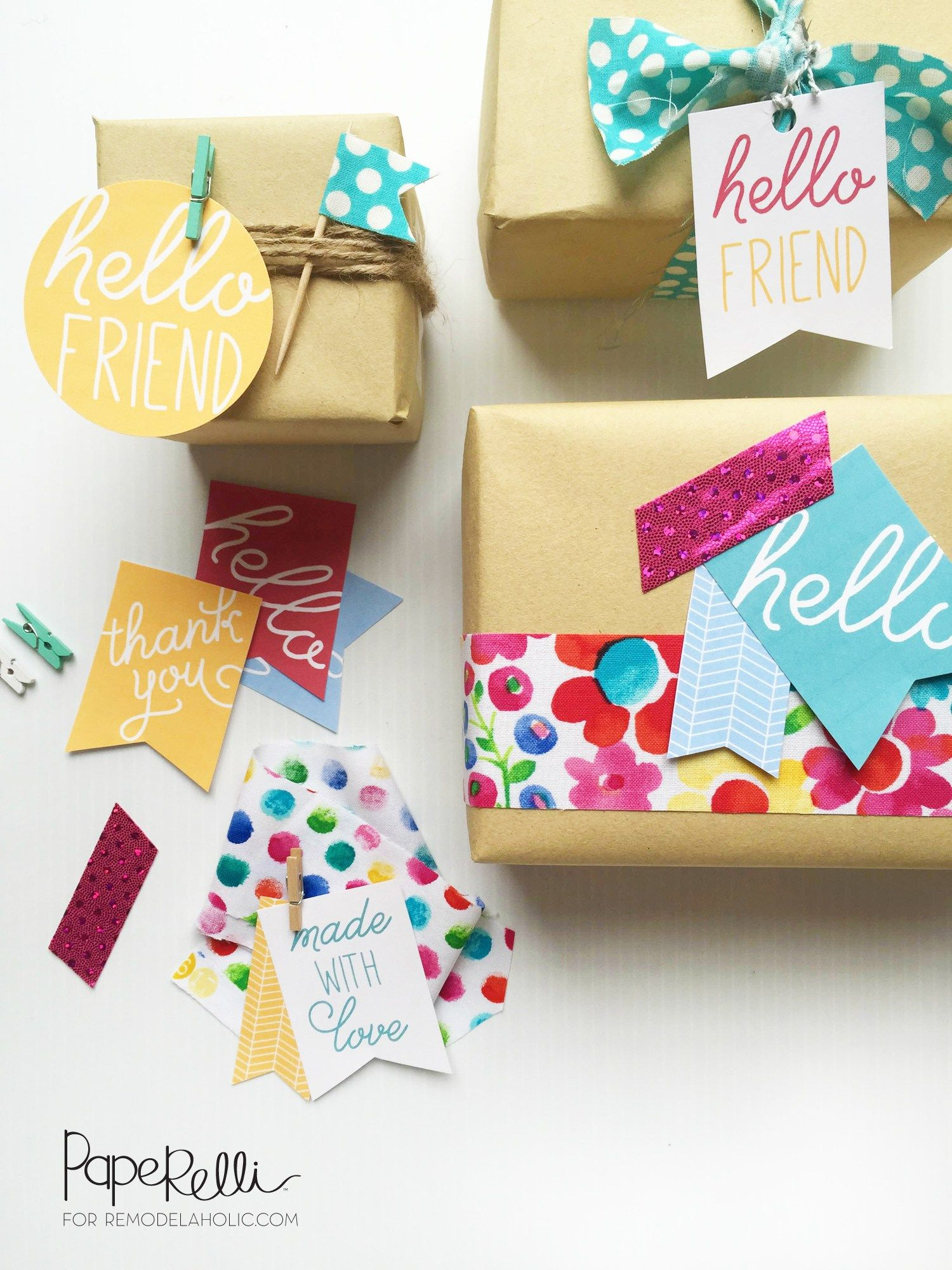Cute And Easy Gift Tags  Free Printable Perfect For