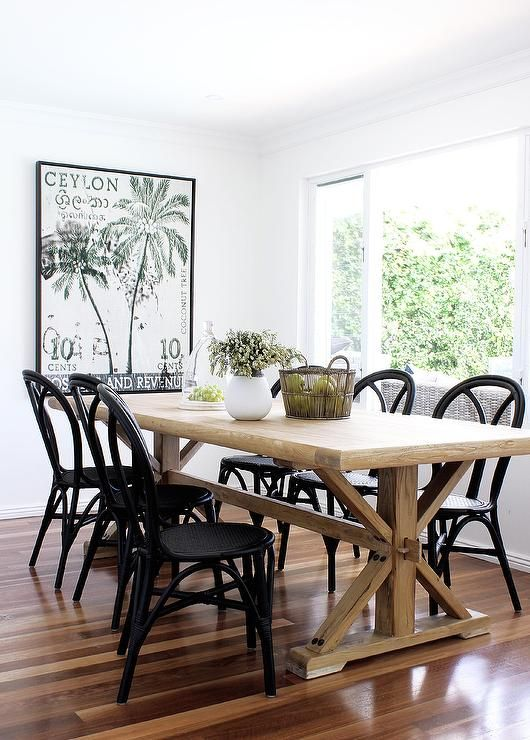 Beautiful French Farmhouse Style Dining Room Back Cafe