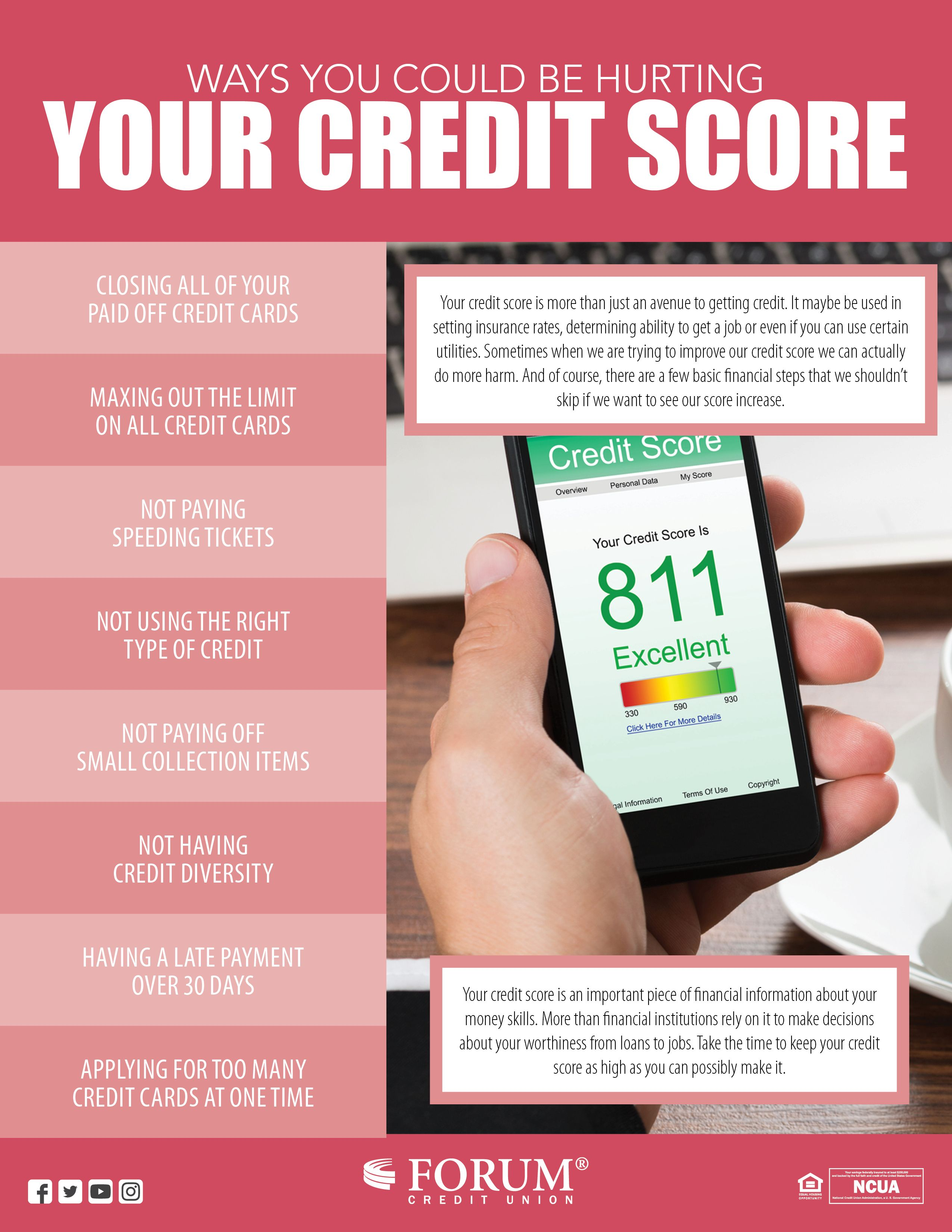 Pin By Forum Credit Union On Tips Amp Advice