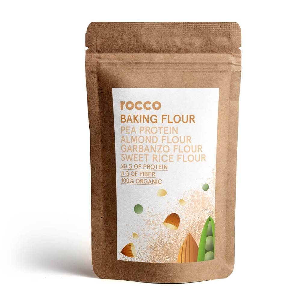 Rocco Power Flour (Sweet Blend) Protein baking, No carb