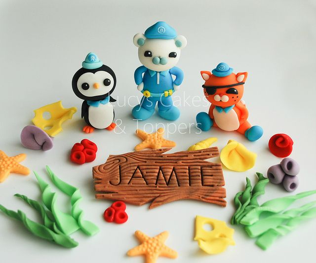 Octonauts edible cake toppers Edible cake Cake and Octonauts party