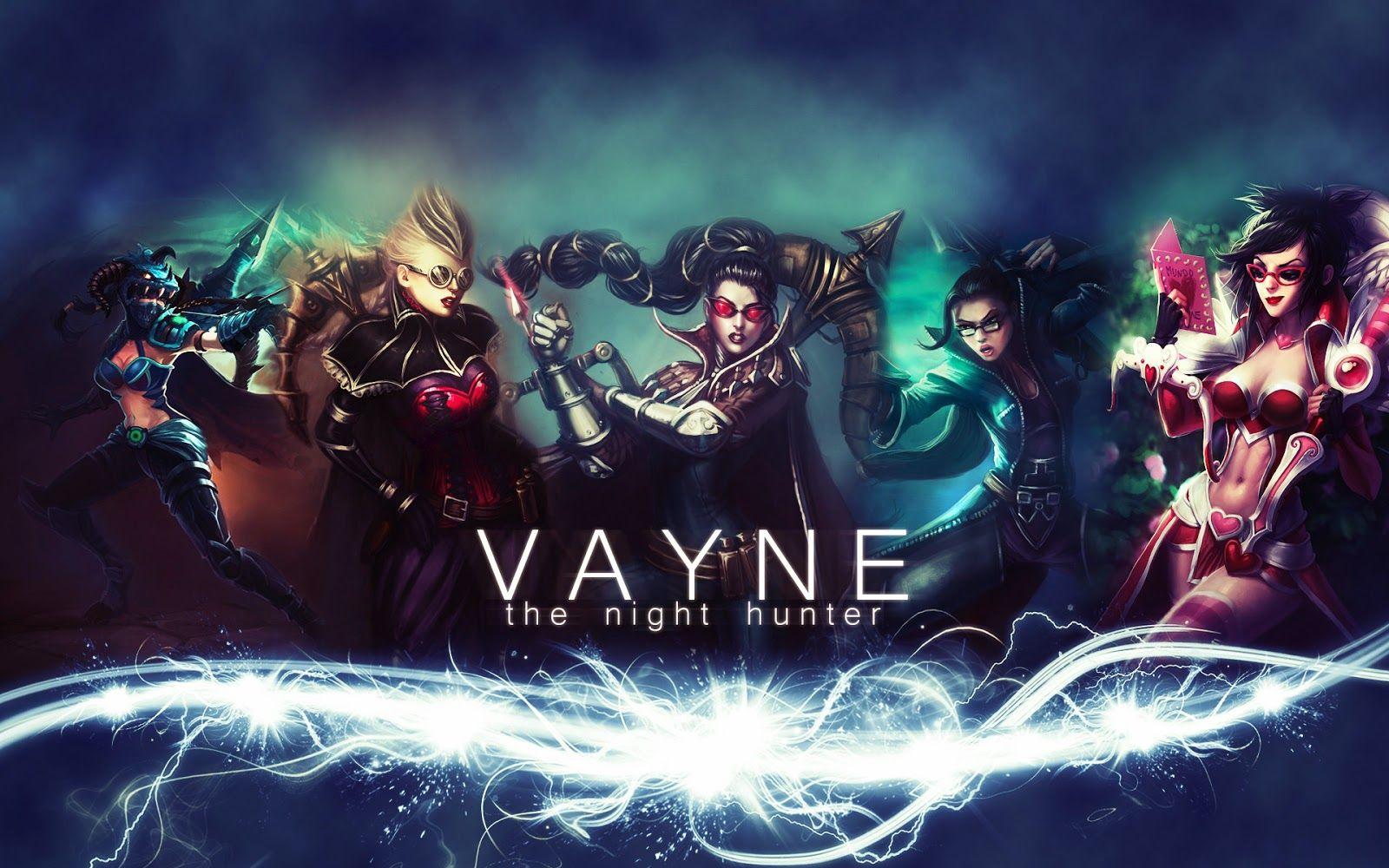 Vayne League Of Legends Wallpaper Vayne Desktop Wallpaper League Of Legends League Legend