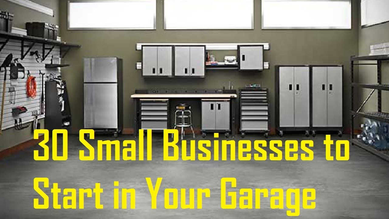 . 30 Small Businesses to Start in Your Garage  Ultimate Garage