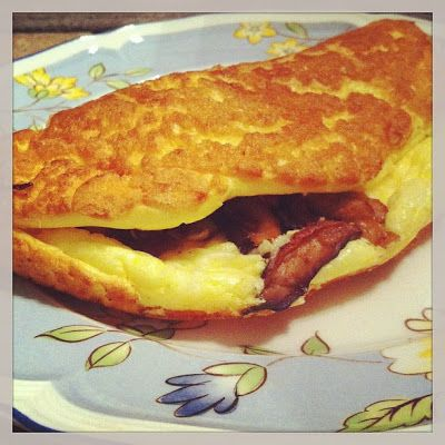 simply sweet justice: Fluffy Omelette