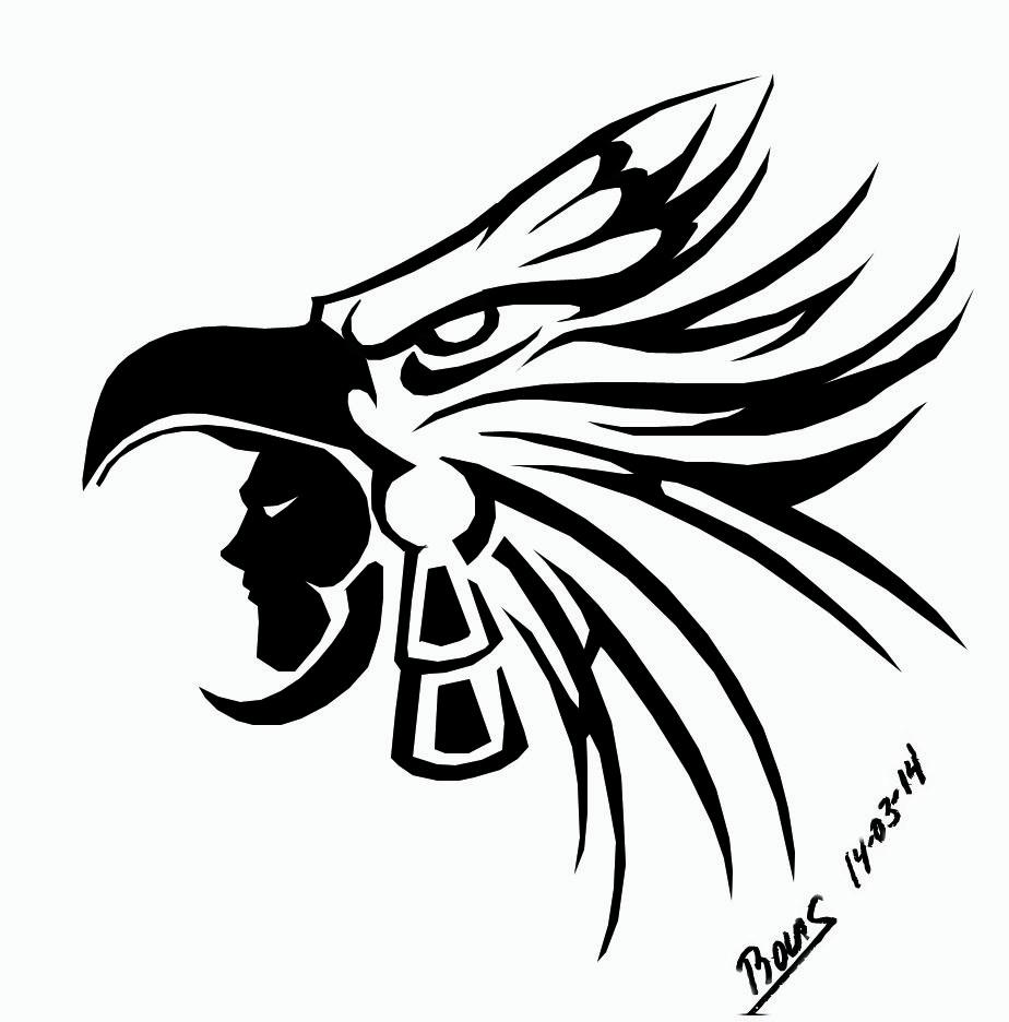 Warrior Aguila 003 Df Jpg 924 936 Aguila Tribal Aztecas Dibujos Simbolos Aztecas