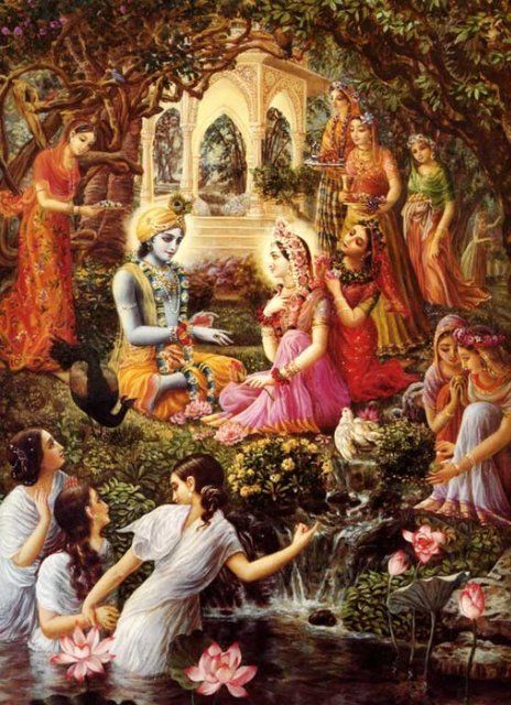 Krishna Radha Gopi