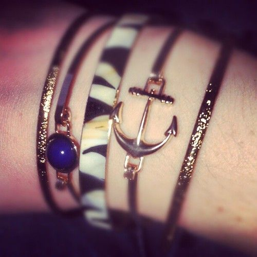 Arm Candy Anchor Bangle Forever 21