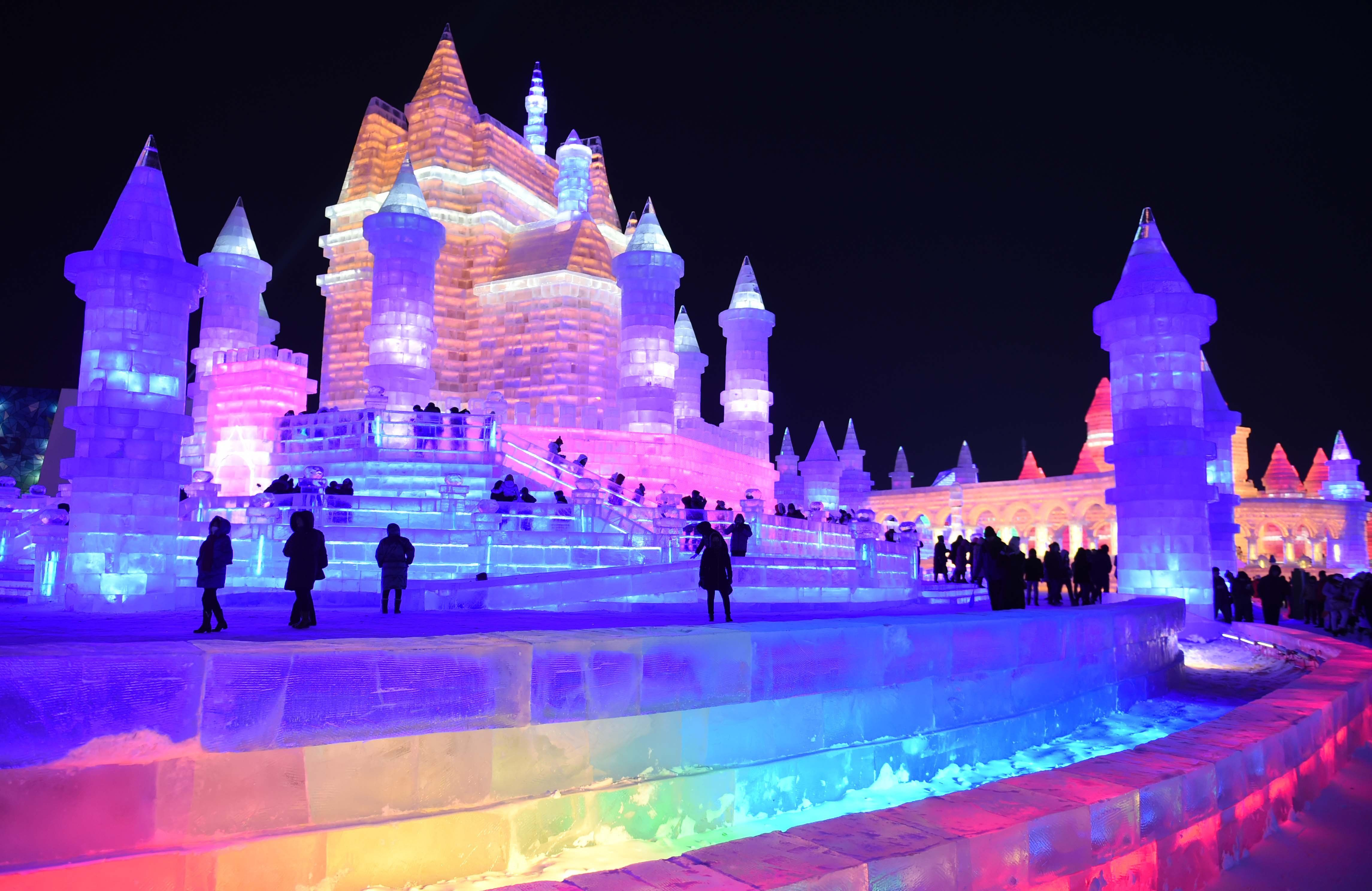 Image result for Harbin Ice Festival