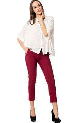 Женские брюки-капри   Кому подходят и с чем носить женские брюки-капри ba5f2a50736