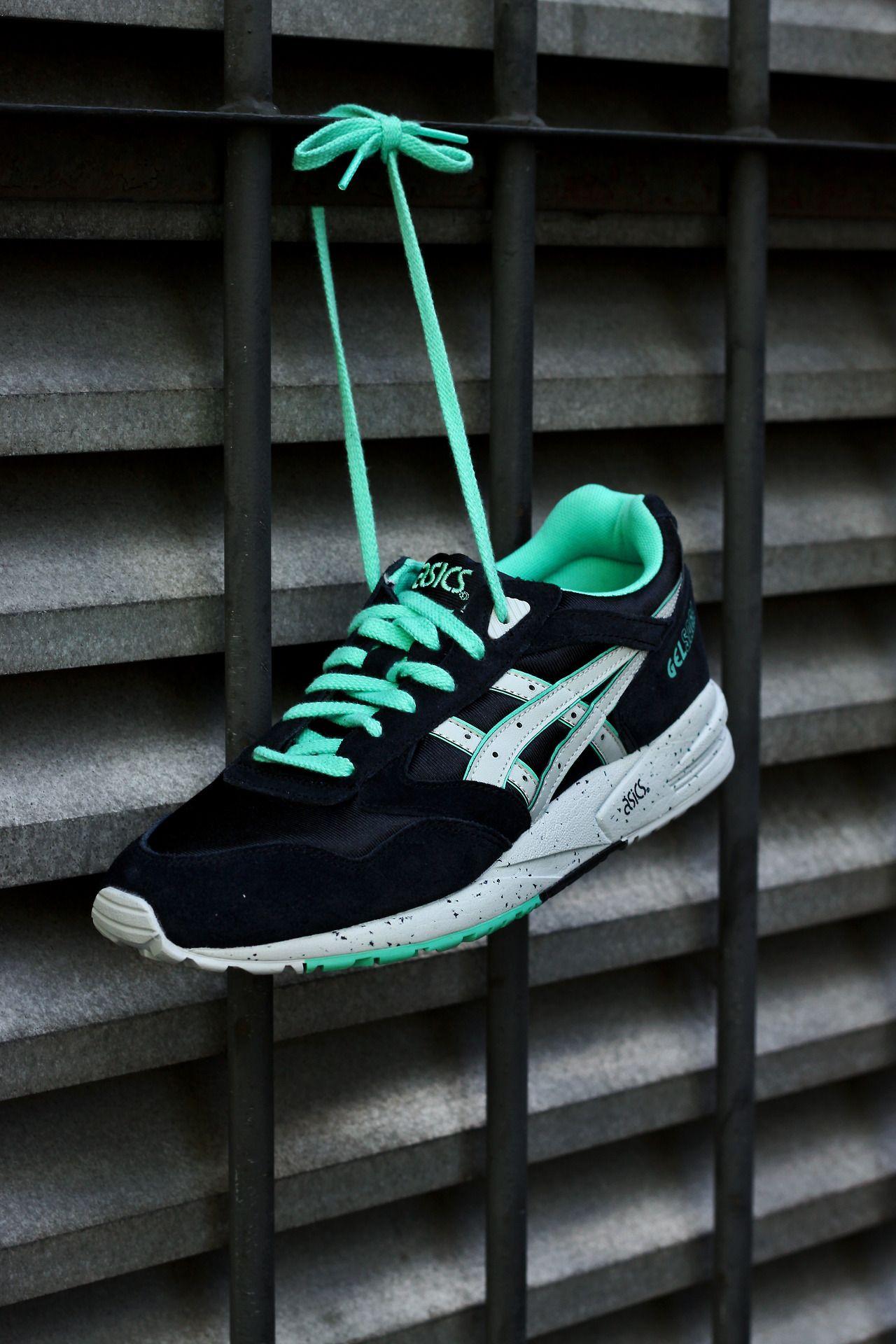 3 cette de cette couleur couleur Asics Gel Saga Sneaker Noir Sneaker/ Gris/ Menthe | 1c48523 - gerobakresep.website
