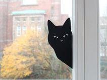 Wandsticker Katze Wandsticker Fenstersticker Wandtattoos