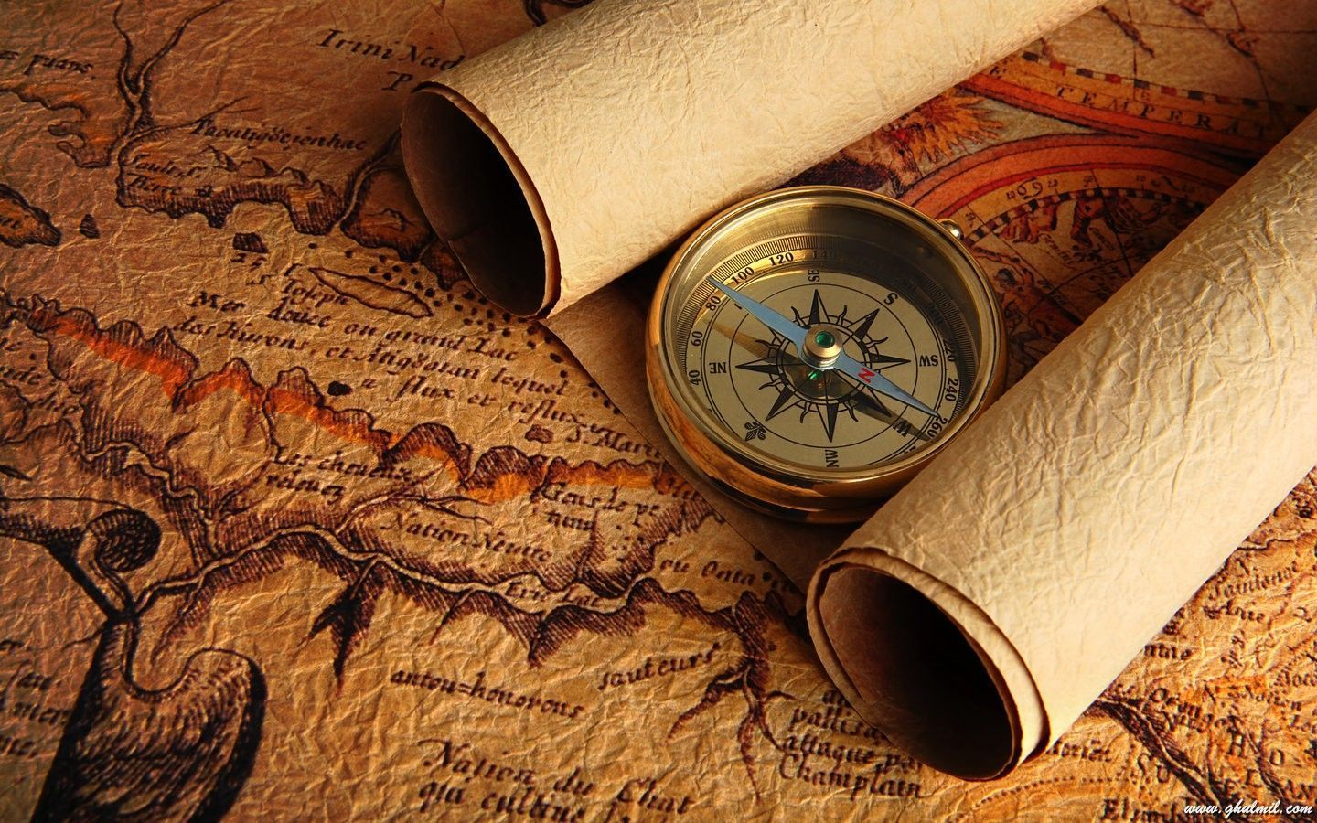 Wallpapers For Ancient Map Wallpaper Old Maps Pinterest - Antiques us maps with compass