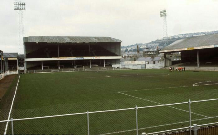 The Vetch Field Swansea City In The 1970s British Football Stadium Pics Football Stadiums