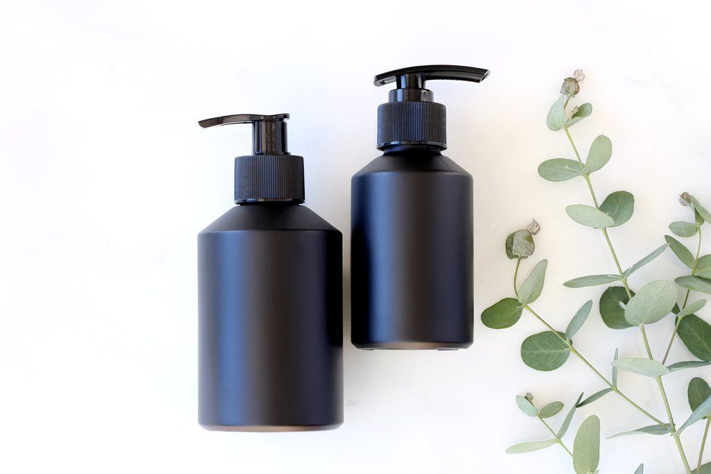Matte Black Lotion Pump Bottles Lotion Pumps Lotion Hand Lotion